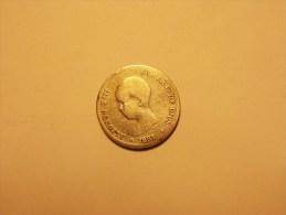 Assez Rare Monnaie Espagne 1 Peseta Argent 1891 (1/2) - Espagne