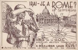 Histoire - Jeunesse Ouvrière Chrétienne - Jocistes Arras 1939 - Guerre 39-45 - Travail Jeunes Rome - Historia