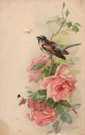 Catharina KLEIN   Bouquet De Roses Et Oiseau (2) - Klein, Catharina