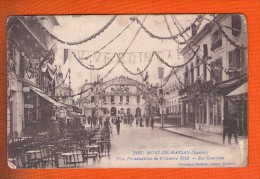 1 Cpa Mont De Marsan Fêtes Présidentielles Du 6 Octobre 1913 Rue Gambetta - Mont De Marsan