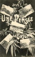 CPA  UNE  PENSEE  DE  GRIGNY - Grigny