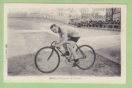 Victor THUAU , MILLO, Champion De France. Dos Simple, état Parfait. 2 Scans. Edition BF - Cyclisme