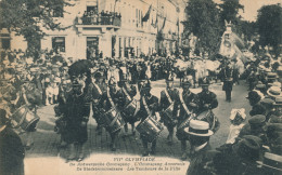 340/22 - Carte-Vue JEUX OLYMPIQUES ANVERS 1920 - Ommegang Les Tambours De La Ville - Non Circulée - Summer 1920: Antwerp