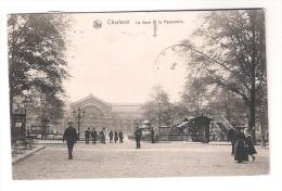 Charleroi  La Gare Et La Passerelle - Charleroi