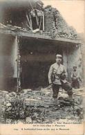 80 - Guerre 1914-15 - Lihons-en-Santerre - Une Maison Bombardée Sur La Route Allant à Maucourt - Autres Communes