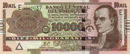 PARAGUAY 10000 GUARANIES 2011 (2013) P-NEW UNC - Paraguay