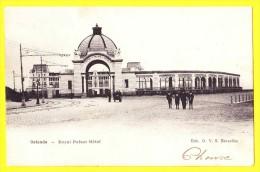 * Oostende - Ostende - Ostend (Kust - Littoral) * (Edit O.V.S.) Royal Palace Hotel, Tramway, Animée, Rare, Old, Oldtimer - Oostende