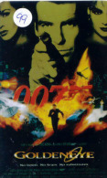JAMES BOND * Télécarte (99) PHONECARD * MUSIQUE * MUSIC * TELEFONKARTE * FILM * MOVIE * CIMEMA * GOLDEN EYE - Film