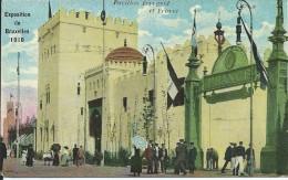 EXPOSITION UNIVERSELLE DE 1910 A BRUXELLES : Pavillon  Espagnol Et France - Expositions Universelles
