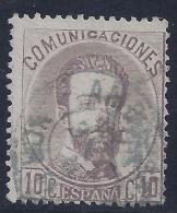ESPAÑA 1872 - Edifil #120 Matasello Ambulante - VFU - 1872-73 Reino: Amadeo I