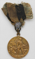 Estland Estonia Estonie 1918-1920 Medal Liberation War Freiheitskrieg With Original Ribbon Remainders - Estonia