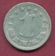 F2676 / - 1 Dinar - 1953 -  Yugoslavia Yougoslavie Jugoslawien - Coins Munzen Monnaies Monete - Joegoslavië