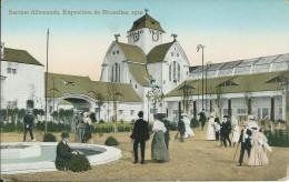 EXPOSITION UNIVERSELLE DE 1910 A BRUXELLES : Section Allemande - Expositions Universelles