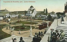 EXPOSITION UNIVERSELLE DE 1910 A BRUXELLES : Jardin Hollandais - Expositions Universelles