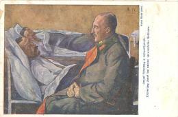 """Erzherzog Josef Bei Seinen Verwundeten Soldaten.  Zuy Gunsten Der """"pro Transilvania"""". A """"pro Transilvania"""". SELTEN !!! - Guerre 1914-18"""
