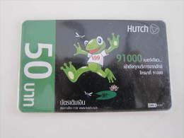 Prepaid Card ,frog,used - Thaïlande