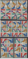 Lot DDR ZD Michel No. 901 - 904 /  W Zd 34 - 41 , S Zd 20 - 27 + 4 versch Viererbl�cke ** postfrisch