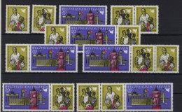 Lot DDR ZD Michel No. 1478 - 1480 /  W Zd 204 - 209 ** postfrisch