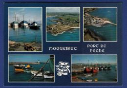 29 SIBIRIL MOGUERIEC Petit Port De Pêche à La Langouste ; Chalutiers, Phare, Canots 5 Vues - Autres Communes