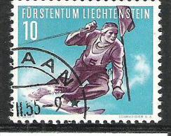 Liechtenstein 1955  Michel Nr.334 Used O - Liechtenstein