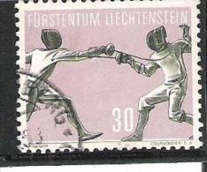 Liechtenstein 1958  Michel Nr.366 Used O - Liechtenstein