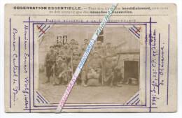 14 /18 : PHOTO 289e RI ( SENS / PARIS  ) / 23e COMPAGNIE / 289e REGIMENT D´ INFANTERIE .... - Oorlog, Militair