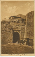 Cyprus Chypre Othello's Tower Famagusta Car  No 11 Drawn By Laszner Studio - Cyprus