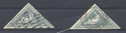 2 Südafrika Dreicksmarken - Afrique Du Sud (1961-...)