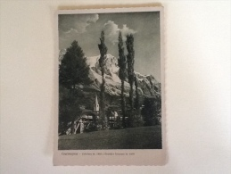 COURMAYEUR ENTREVES E GRANDES JARASSES VIAGGIATA-XX- - Italia