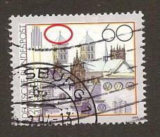 Bundesrepublik Nr. 1645  Mit Plattenfehler  Philotax BF 37  Gestempelt - Abarten