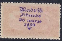ESPAÑA 1933 - Edifil # 679 - No Catalogado! - 1931-Hoy: 2ª República - ... Juan Carlos I