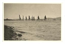 Photo, Lausanne, Voiliers dan le Port, Ao�t 1937