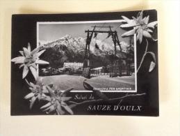 SALUTI DA SAUZE D'OULX VIAGGIATA XX - Unclassified