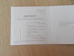 Doodsprentje Filibert Bailleul Izenberge 5/7/1920 Veurne 13/9/1995 ( Roza Vanderstappen ) - Religion & Esotérisme