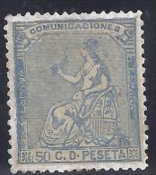 ESPAÑA 1873 - Edifil #137 - MLH * - Nuevos