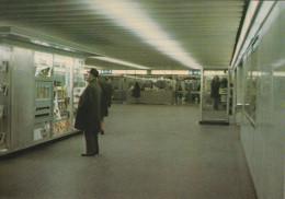 """BRUXELLES (métro) - L1 """"Schuman"""" : Correspondance SNCB........  (scan Verso). - Metro"""