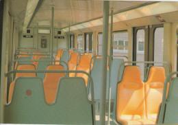BRUXELLES (métro) - Voiture De Métro - Intérieur........  (scan Verso). - Metro