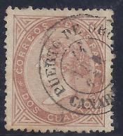 ESPAÑA 1867 - Edifil #87 - VFU - 1850-68 Reino: Isabel II
