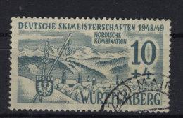 W�rttemberg Michel No. 38 y III gestempelt used