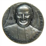 MEDAGLIA ARGENTO PAPA RONCALLI GIOVANNI XXIII - LA VITA DI PAPA RONCALLI - Italia