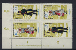 DDR Michel No. 1076 - 1077 / S Zd 66 ** postfrisch DV Druckvermerk