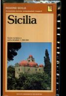 SICILIA GUIDA TURISTICA E CARTA STRASDALE DE AGOSTINI - Turismo, Viaggi