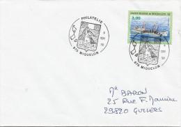 St. Pierre Et Miquelon 1996 Miquelon Fishing Trawler Pinta Cover - St.Pierre Et Miquelon