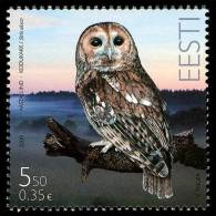 Estonia. Eurasian Tawny Owl (2009) - Owls