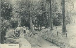 Linkebeek -Dans La Vallée - Groupe D'enfants  - 1909 ( Verso Zien ) - Linkebeek