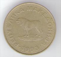MACEDONIA 1 DENAR 1993 - Macedonia