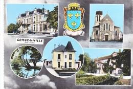 Combs La Ville Multivue Poste Et Telegraphe - Combs La Ville