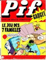 💥 PIF GADGET N° 1411—Gadget N° 173 Jeu Des 7 Familles—1972💥 - Bücher, Zeitschriften, Comics