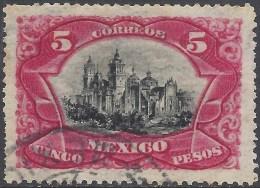 MEXICO 1899 5p CARMIN Nº 189 - Mexiko