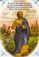 CALENDARIO DEL AÑO 1999 DE UN GALLO Y SAN PEDRO (COQ) (CALENDRIER-CALENDAR) - Tamaño Pequeño : 1991-00